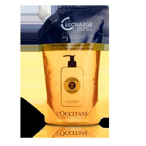 Shea Butter Liquid Soap Verbena Refill - L'Occitane
