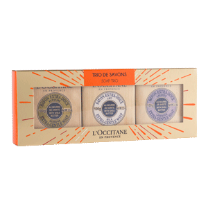 Shea Butter Soap Trio