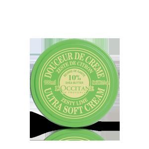 Shea Butter Ultra Soft Cream - Zesty Lime