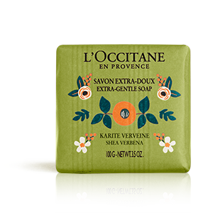 Shea Extra Gentle Verbena Milk Soap - L'Occitane