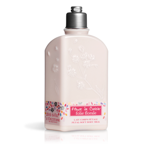 Cherry Blossom Folie Florale Petal-Soft Body Milk