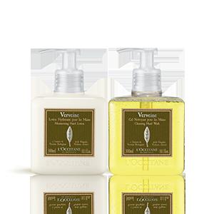 Verbena Hand Wash & Lotion Duo