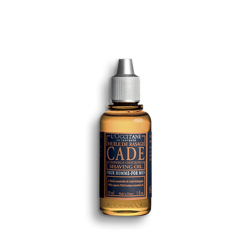 2 In 1 Cade Pre Shave Oil And Shaving Oil L Occitane