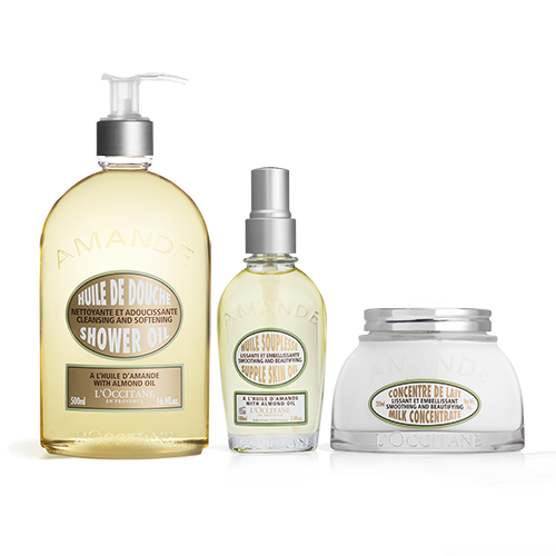 Almond Body Care Trio