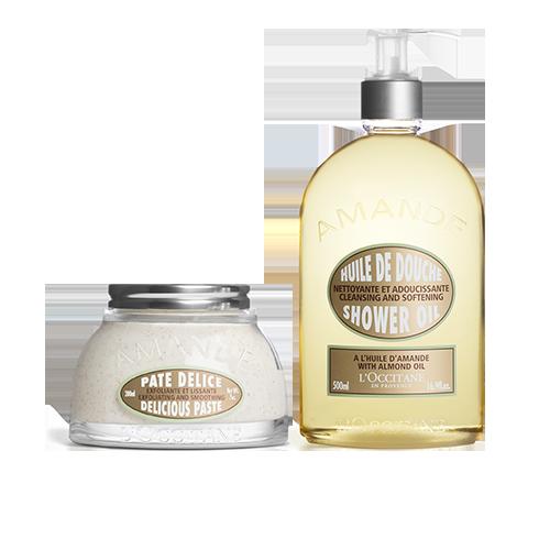 Almond Shower & Scrub Duo