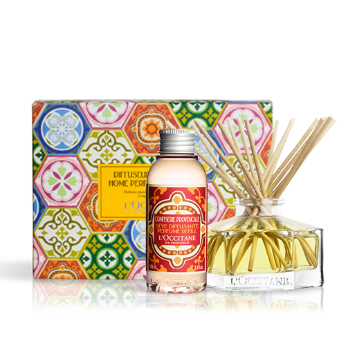 Candied Fruit Home Diffuser Set