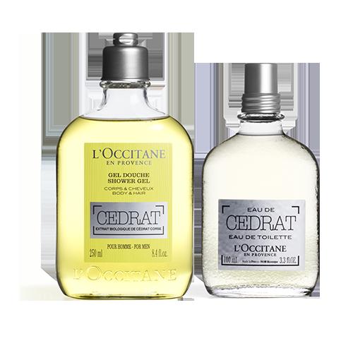 Cedrat Shower Gel & EDT Duo