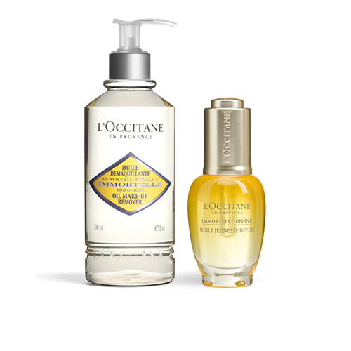 Immortelle Oil and Cleanser Duo