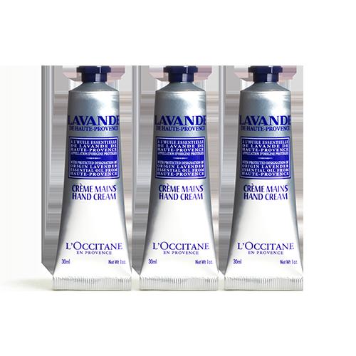 Lavender Hand Cream Trio