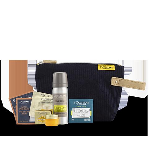 Men S Skincare Kit Travel Essentials L Occitane