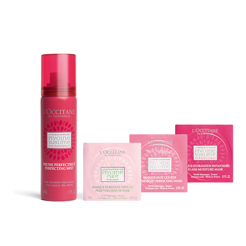 Peony Mist and Mask Gift