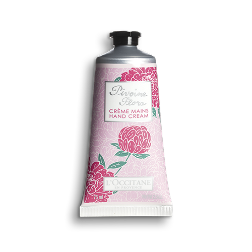 pivoine flora hand cream peony. Black Bedroom Furniture Sets. Home Design Ideas