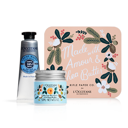 Shea Butter Amour Kit | Rifle Paper Co. Gifts | L'Occitane