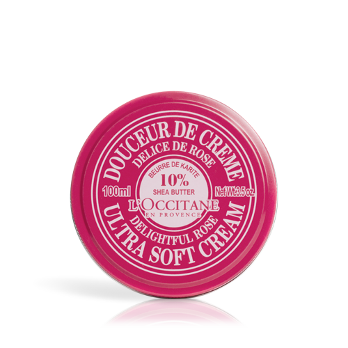 Shea Butter Ultra Soft Cream - Rose Heart