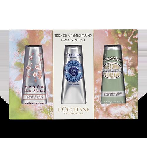 Springtime Hand Cream Trio
