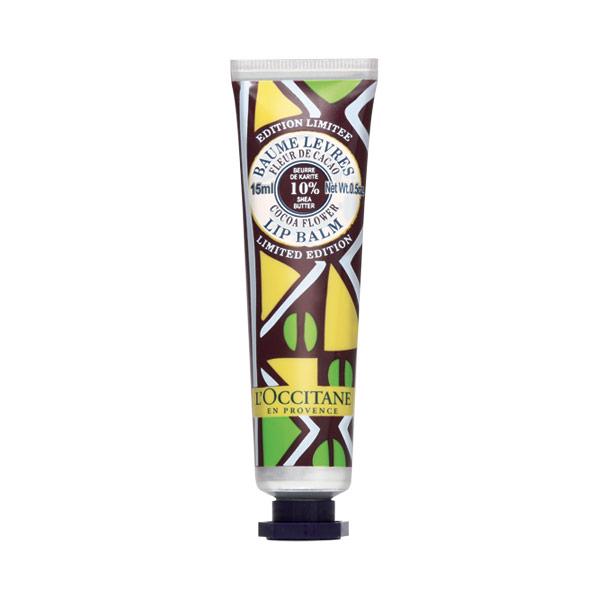 Limited Edition Cocoa Flower Organic Shea Lip Balm EFT