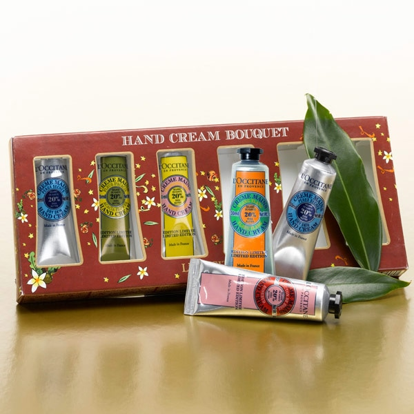 Hand Cream Bouquet - L'Occitane :  pampering stress moisturizer skin care