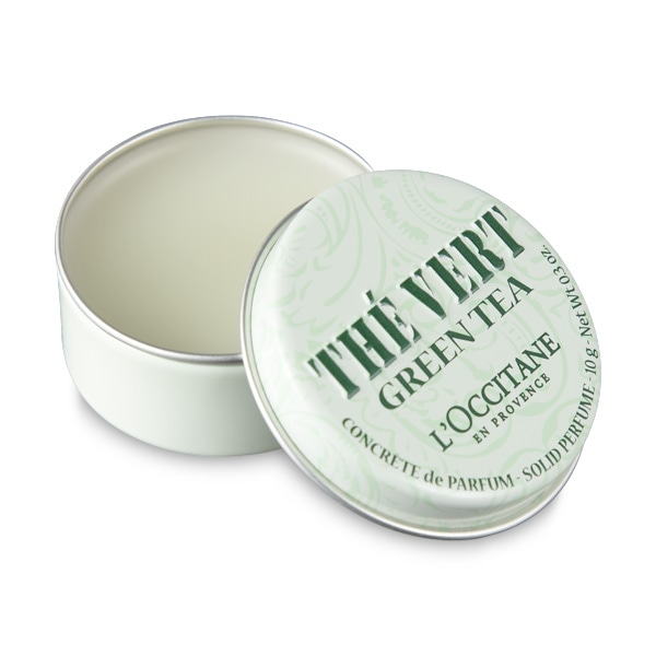Green Tea Solid Perfume - Discontinued
