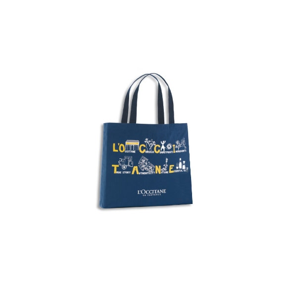 Map Tote L'occitane Bag