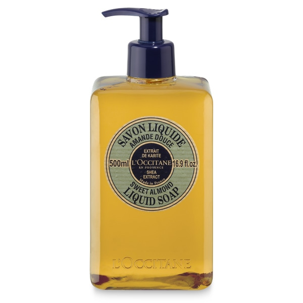 Shea Butter Liquid Soap -Sweet Almond