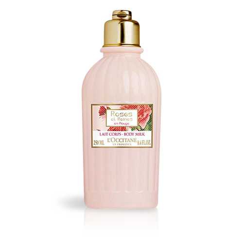 Roses et Reines en Rouge Body Milk