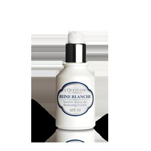 Pantalla Iluminadora UV SPF50 de Reina Blanca