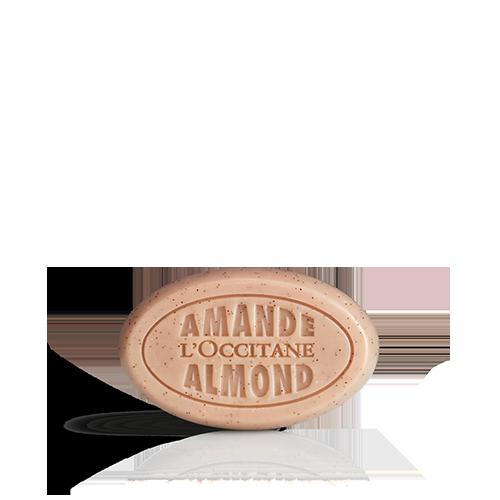 Jabón Exfoliante Almendras Deliciosas