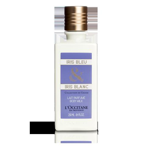 Leche de Cuerpo Perfumada Iris Azul & Iris Blanco