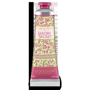 Crema para Manos Rosa Jardín de los Secretos