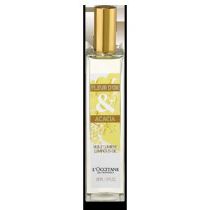 Aceite Luminoso Flor de Oro & Acacia