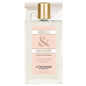 Aceite Nerolí y Orquídea para el cuerpo