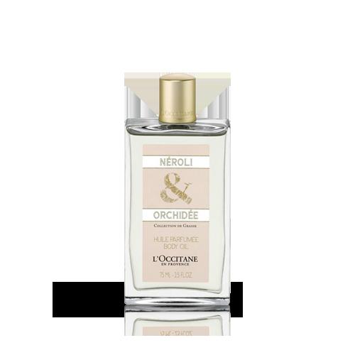 Neroli & orchidee body oil