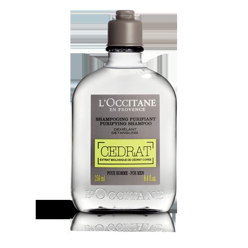 Shampoo purificante y desenredante Cedrat