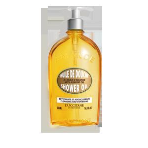 Aceite de ducha de Almendra