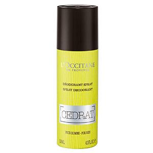 Desodorante en Spray Cedrat