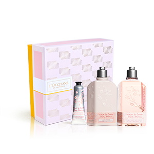 Cofre Cuerpo Flores de Cerezo | Tratamiento perfumado para el cuerpo