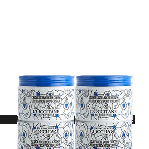 Dúo de Cremas Ultra Rica de Cuerpo Karité edición limitada   L'OCCITANE