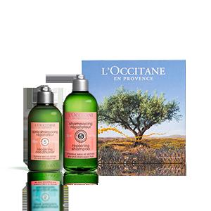 Dúo Reparador Aromacología | Cabellos secos y quebradizos