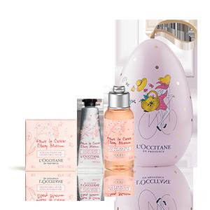 Huevo Floral Flores de Cerezo    Tratamientos hidratantes perfumados