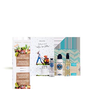 Kit de belleza natural: tratamientos, libro y más