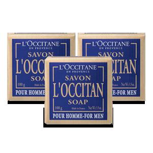 Trío de jabones Occitan