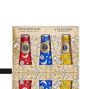 Trío de Cremas de Manos CASTELBAJAC Paris| L'OCCITANE