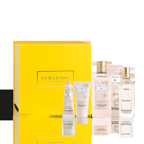 Cofre de Perfume Neroli & Orquídea