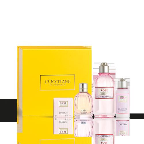 Cofre de Perfume Rosa