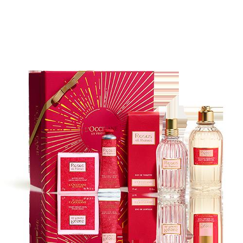 Cofre Regalo con Perfume Rosas y Reinas