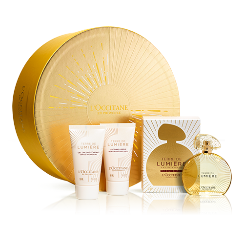 Cofre Regalo con Perfume Terre de Lumière Edición Oro 50ml