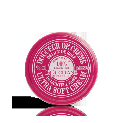 Douceur de Crème Karité - Corazón de Rosa 100 ml