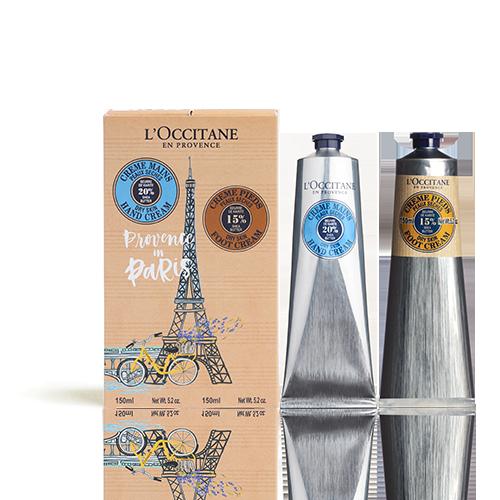 Dúo de Crema de Manos y Crema de Pies en Paris