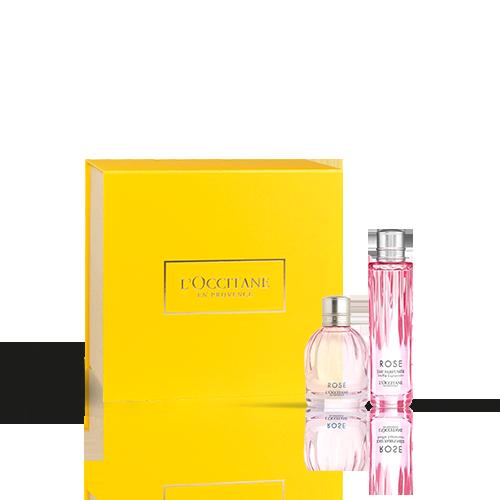 Dúo de Perfume Rosa Festiva