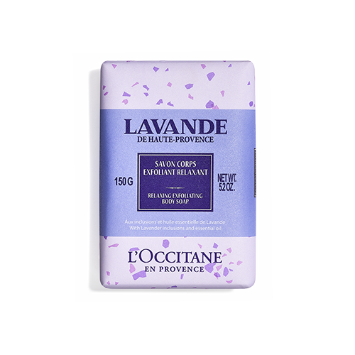Jabón Exfoliante de Cuerpo Lavanda 150g